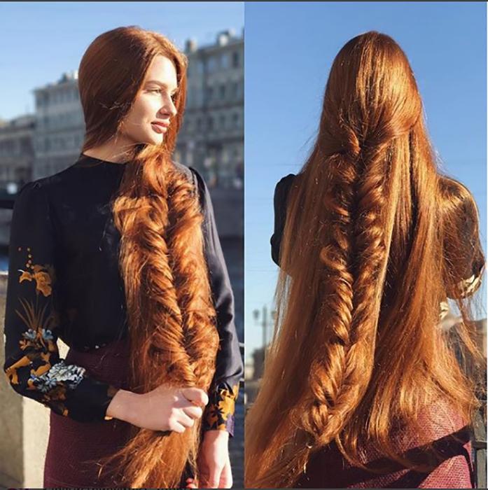 В своем блоге Анастасия развенчивает распространенные мифы о волосах. Instagram sidorovaanastasiya.