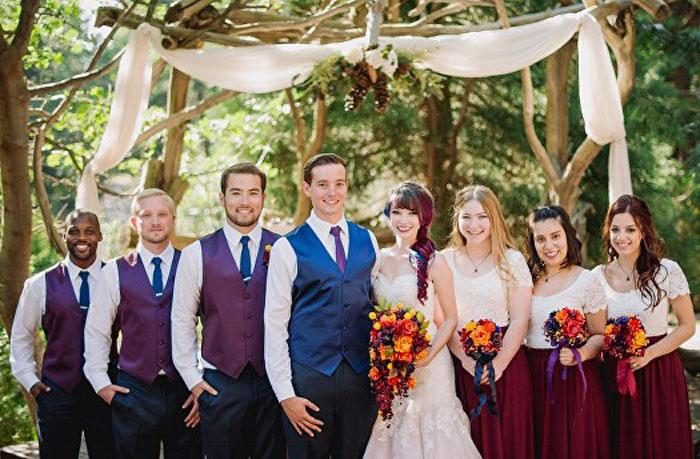 Свадьба художницы Тейлор Энн. Фото: James Tang.