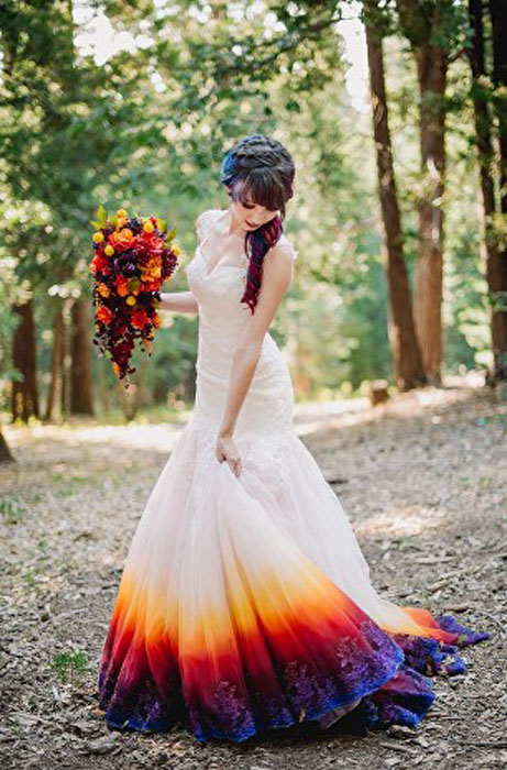 Платье невесты.  Фото: James Tang.
