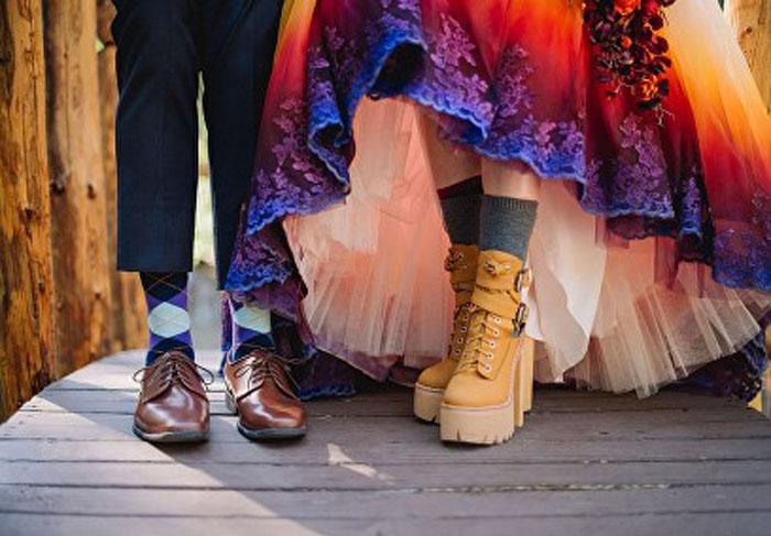 Ботинки.  Фото: James Tang.
