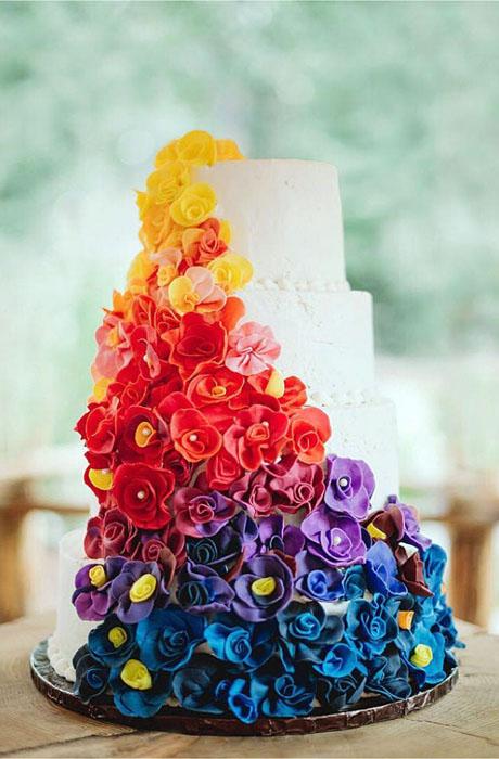 Свадебный торт.  Фото: James Tang.