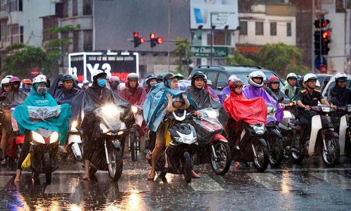 Проблема трафика в Ханое.