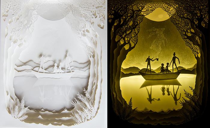 Работы Хари и Дээпти напоминают ящик Пандоры, скрывающий в себе истории и фантазии.