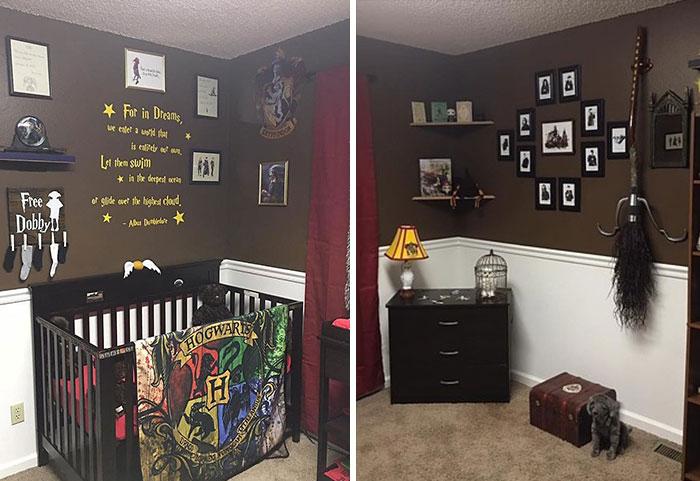 Волшебная детская комната для обычного ребенка.
