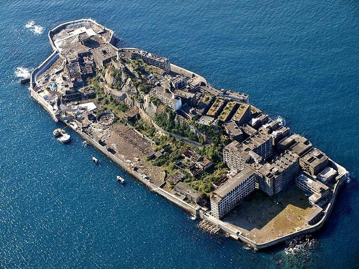 Остров Хасима.