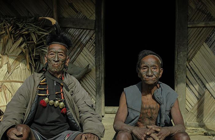 Современные люди Кониак не имеют татуировок на лице. Фото: Wiktor Stadniczenko.