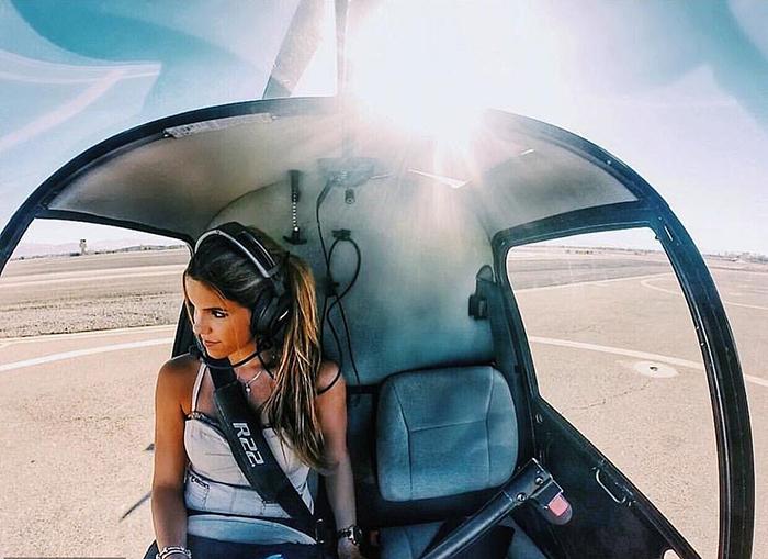 Луана успела поработать пилотом в трех странах.