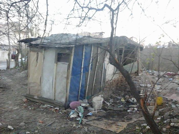 Дом Иона пригнали полностью непригодным для жилья, но старик отказывался покидать это место.