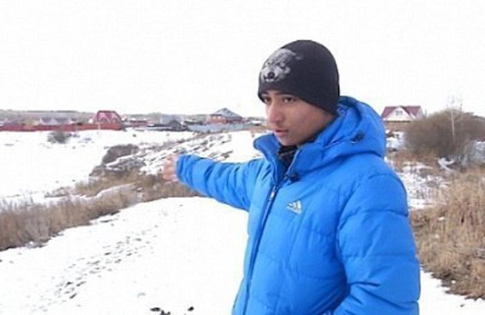 17-летний Александр Ямалетдинов.