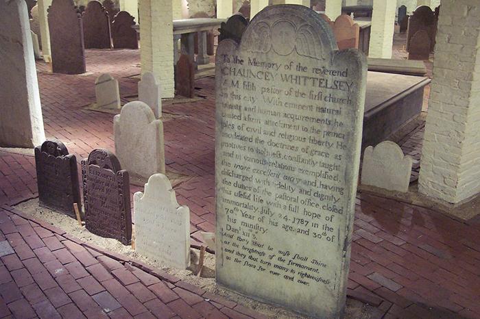 От старого кладбища остался только небольшой участок.