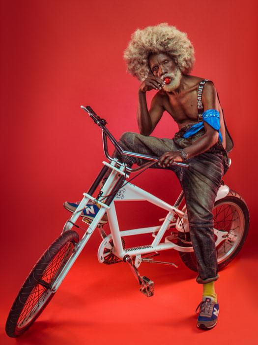 Звезда хип-хопа.  Фото: Osborne Macharia.