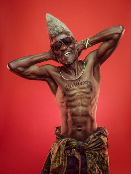 Ночью - охранник, днем - звезда хип-хопа!  Фото: Osborne Macharia.