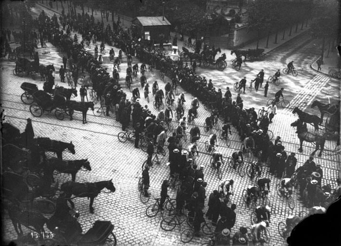 Исторические фотографии Тур де Франс.