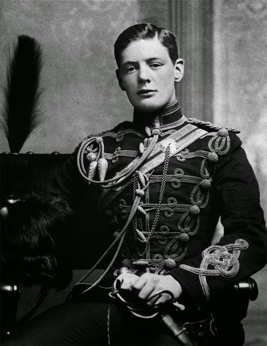 Winston Churchill, 1895 г.