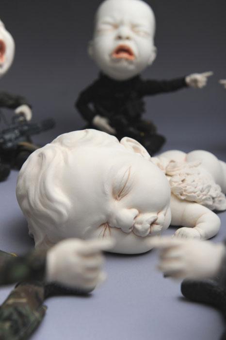 Керамические скульптуры Джонсона Цанга.