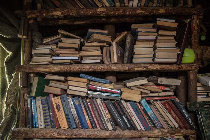 Библиотека - главная гордость Юрия. Фото: Daily Storm.