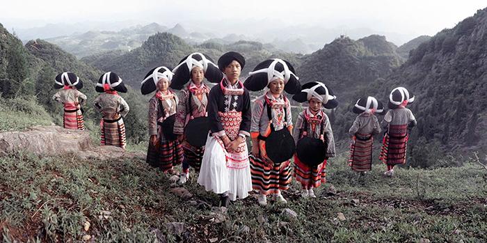 Деревня Миао, Лиу Пан Шуи, горная провинция Гуйчжоу, Китай.