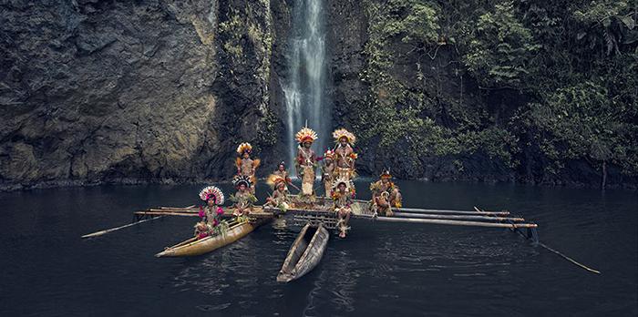 Клан Урамана, Амуйоан, Папуа Новая Гвинея.