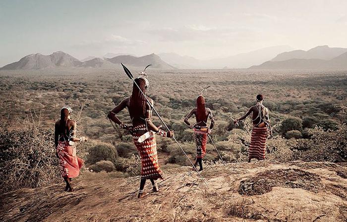 Племя Самбуру, Кения.