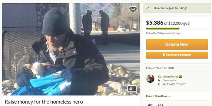 Кетлин удалось собрать для Рона более 5 тысяч долларов.