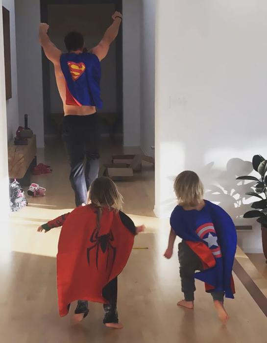 Команда супергероев.