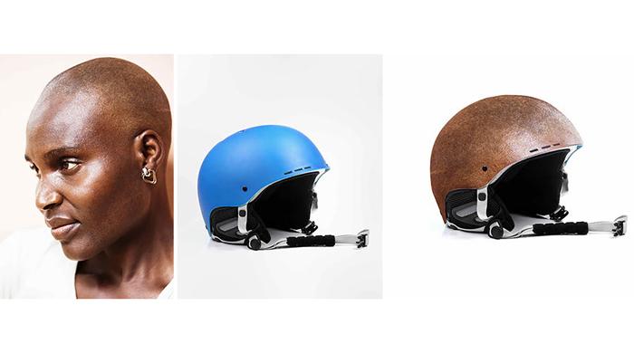 Концепт велосипедных шлемов.