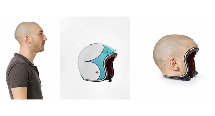 Шлемы от Jyo John Mullor.