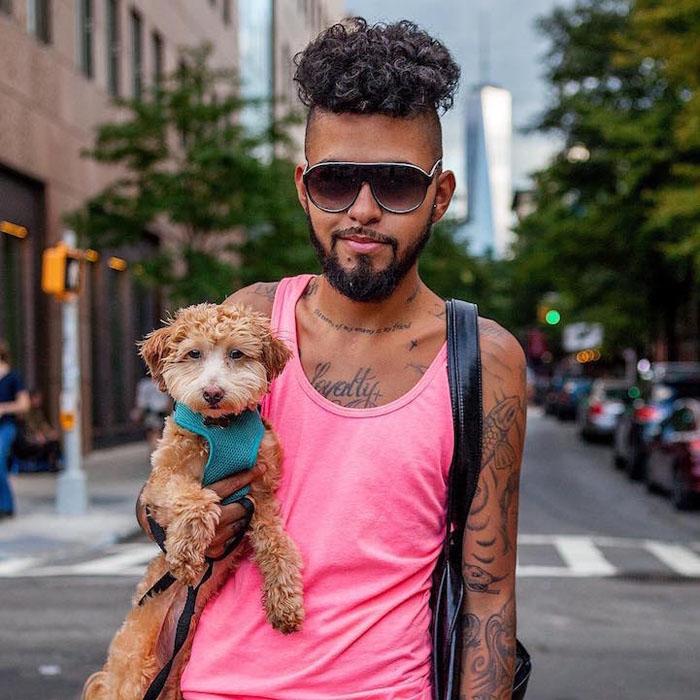 Около года назад я переехал в Нью-Йорк из Флориды, и мне очень не хватает моей семьи. Я взял собаку, чтобы не чувствовать себя одиноким, и Купер стал отличной компанией для меня.