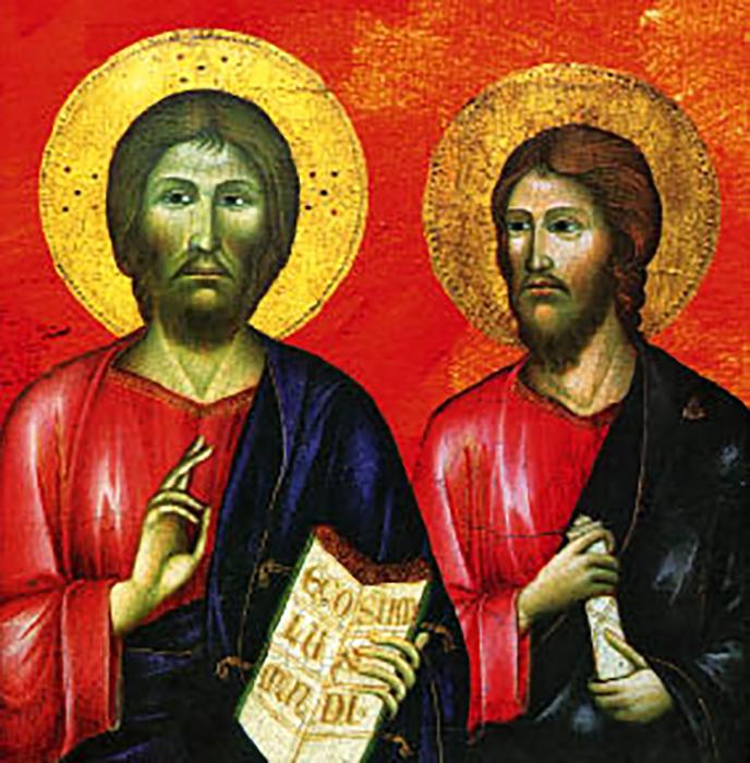 Иисус и Иаков.