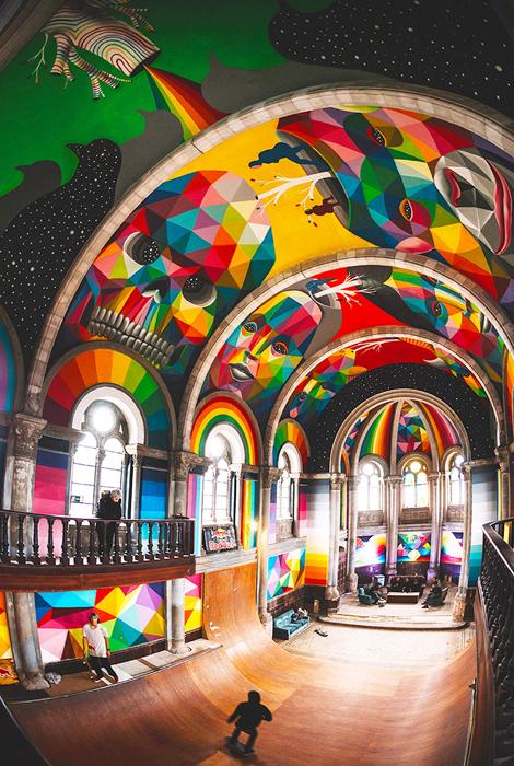 Полное преображение старой церкви.