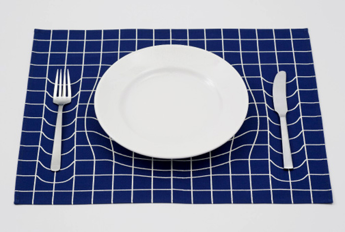 Студия A.P. Works и их работы с оптическими иллюзиями.