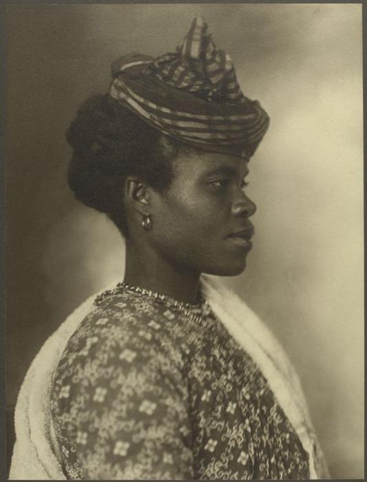 Женщина из Гваделупы.