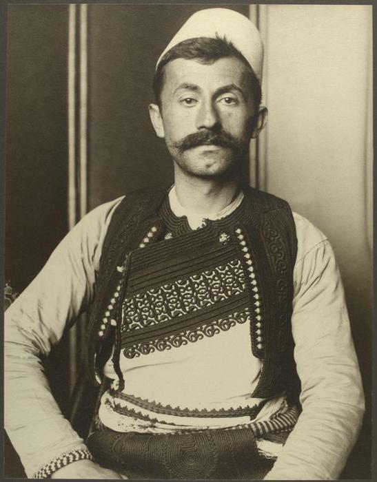 Солдат из Албании.