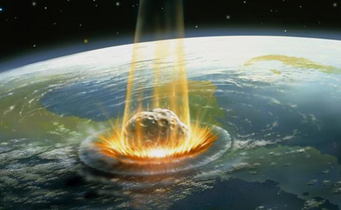 Астероид был более 10 километров в диаметре. По некоторым расчетам - до 80 километров.