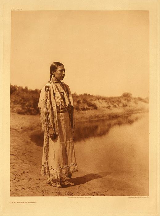 Женщина племени Шайенны.