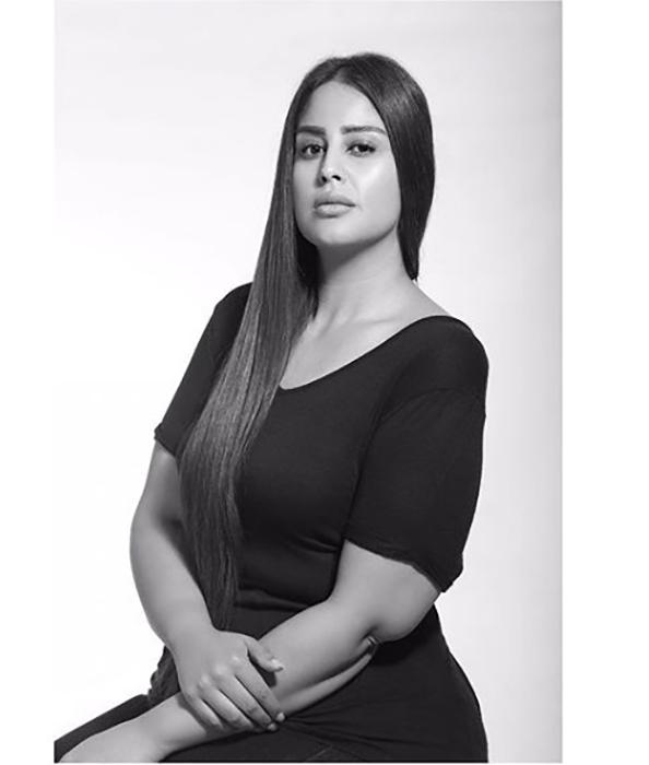 Бишамбер работает моделью плюс-сайз. Instagram @bishamberdas.