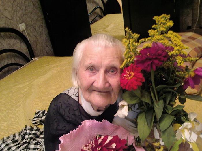 Надежда Петровна Мягких, 101 год.