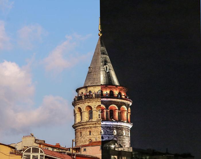 Башня Галата.  Фото: Bektash Musa.