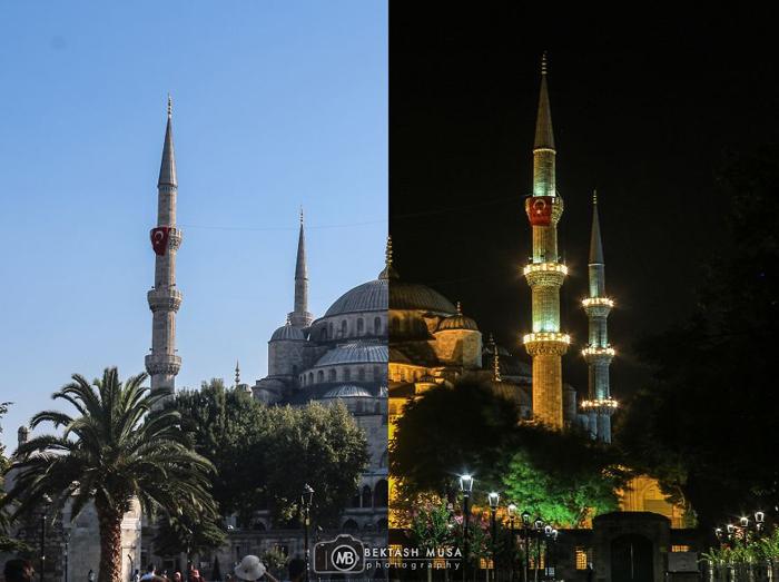 Голубая мечеть - мечеть Султана Ахмета. Фото: Bektash Musa.