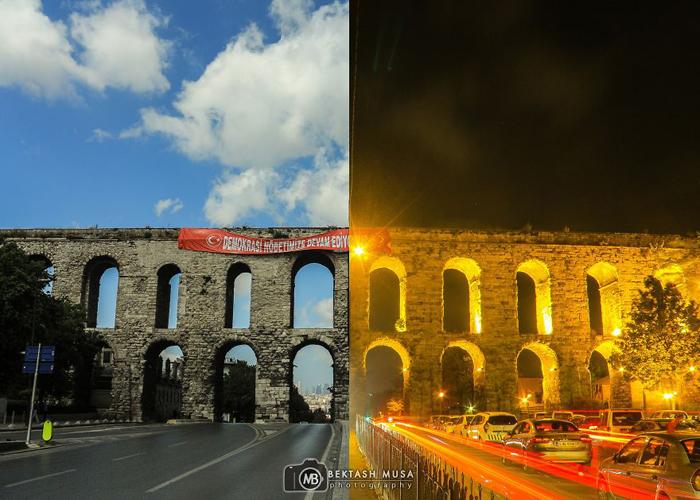 Акведук Валента. Фото: Bektash Musa.