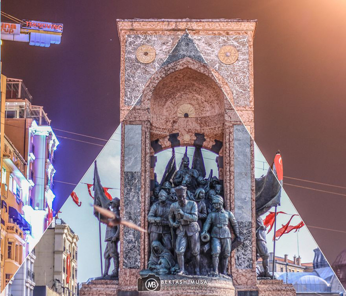 Площадь Таксим.  Фото: Bektash Musa.