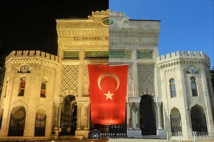 Стамбульский университет. Фото: Bektash Musa.