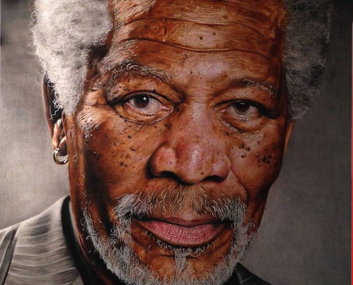 Невероятно реалистичные картины 18-летнего художника.