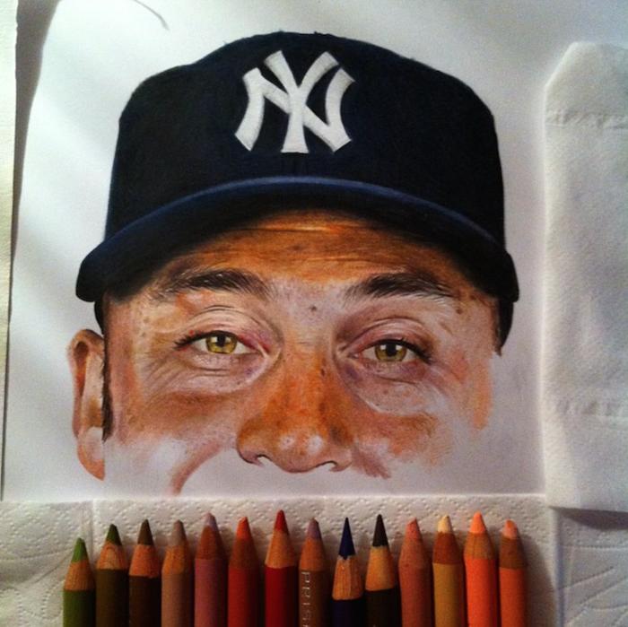 Derek Jeter - амерканский бейсболист.