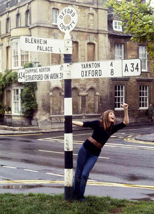 Джейн в 1969 г.  Фото: Andrew Birkin.