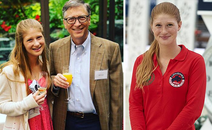 Старшая дочь Билла Гейтса.