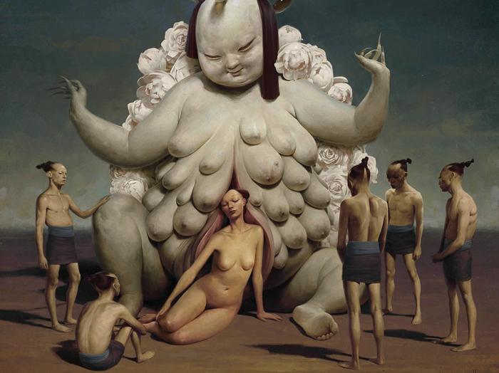 Коронация: провокационные картины Джереми Энесио.