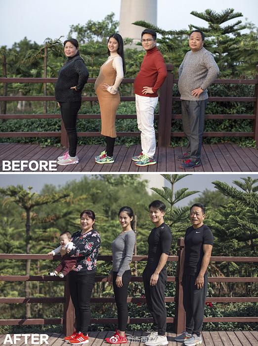 Изменений достигли все члены семьи.