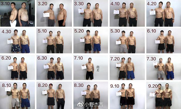 Джесси публиковал результаты тренировок каждые десять дней.