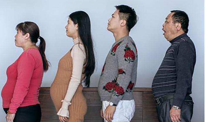 *Семья беременных* в начале проекта.